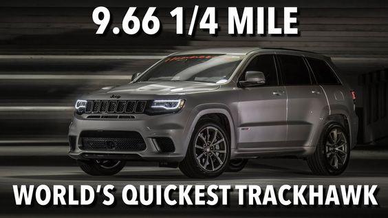 2018 Jeep Grand Cherokee Trackhawk Sport Utility 4d In 2020 Jeep