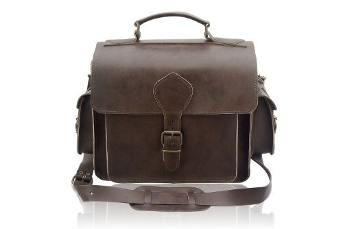 Leather camera bag - just like Indiana Jones'