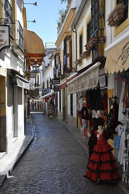 El barrio de la Judería (Jewish Quarter), Córdoba ...