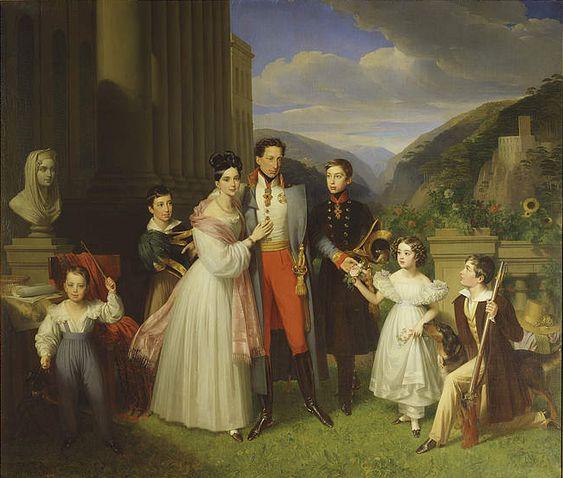 Karl AustriaTeschen Henriette NassauWeilburg - Carlos de Austria-Teschen…