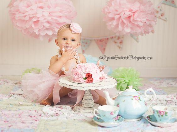 smash the cake, decoração