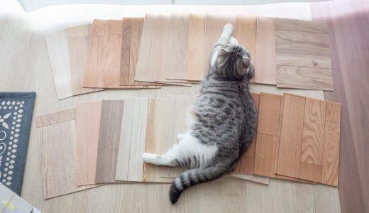 猫のためのdiy 滑りにくい床材探し ピタフィー を貼ってみた結果 床 猫 床 リフォーム