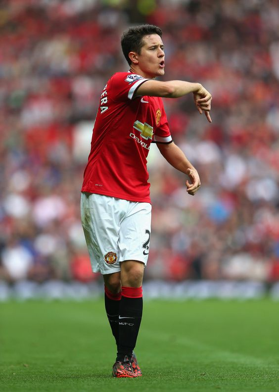 Ander Herrera - Manchester United v Queens Park Rangers, 14th September 2014 #MUFC #QPR #EPL