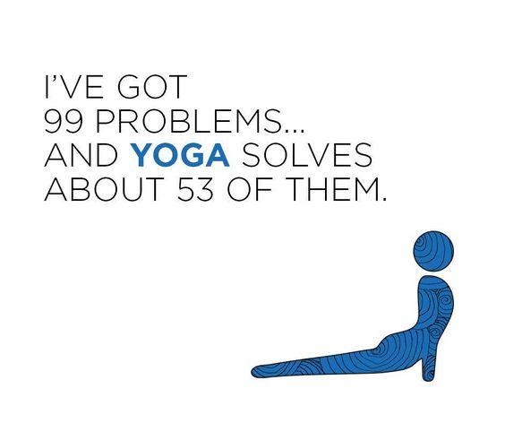 HA! LOL! I'm loving this yoga for beginners program!