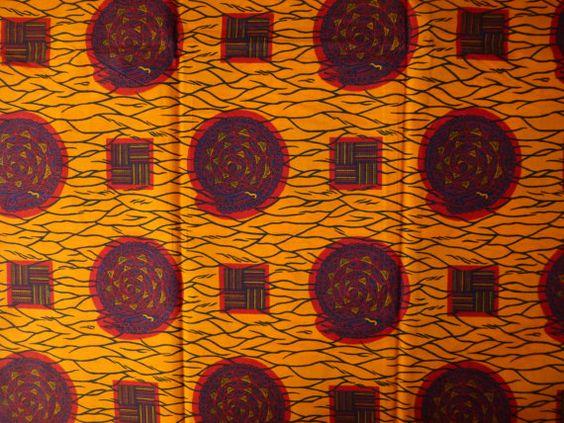 African Fabrics Hollandais Dutch Wax Prints Sold By by kitenge2012, £4.99