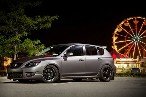 mazda speed3 with laminx tint on the headlights. Black Bedroom Furniture Sets. Home Design Ideas