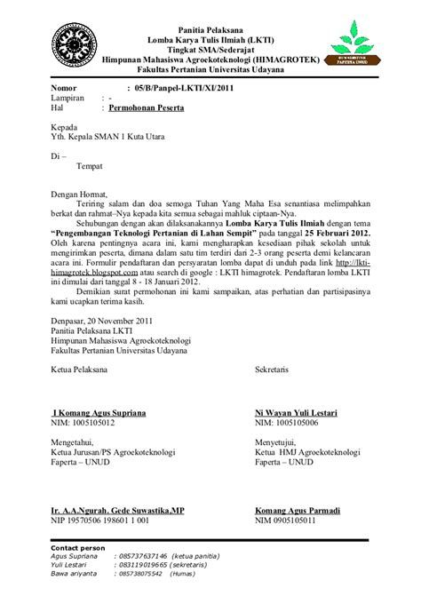 Contoh Surat Audiensi Ke Bupati Informasi Seputar Dunia