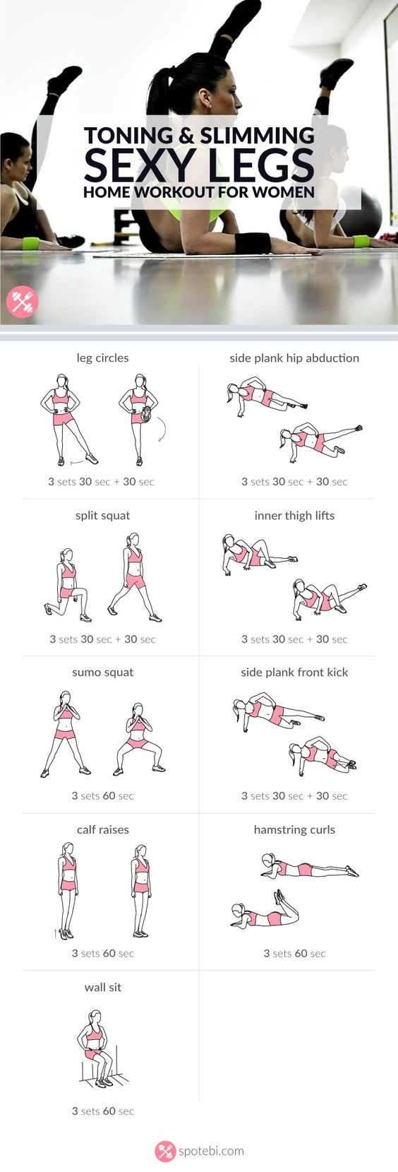 Sexy legs, Get lean and Leg exercises on Pinterest