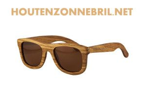 houten piloten bril