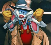 """*ROGER RABBIT ~ Who Framed Roger Rabbit,.....""""Eddie Valiant, you're under arrest!"""""""
