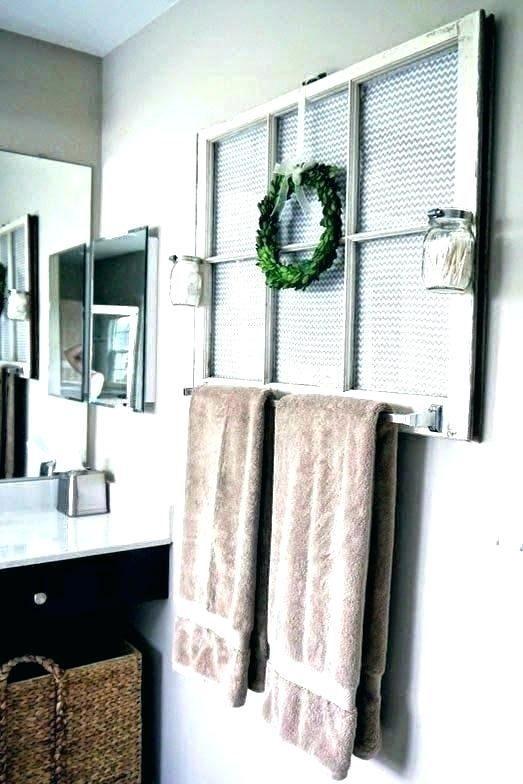 Towel Bar Ideas For Small Bathrooms Decorative Towel Bar Ideas