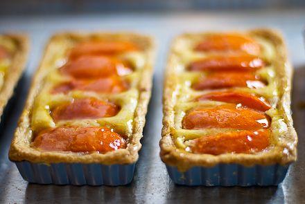 Perfect summer tart | Browned butter, apricot, almond tart