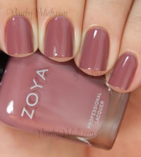 Zoya: 2014 Naturel Deux Transitional Collection Swatches and Review