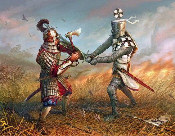 Mongoł vs Krzyżak