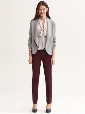 Love the pants color. . .