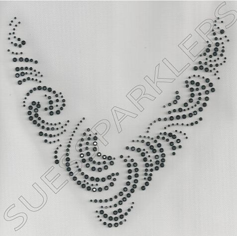 Cosmo jet swirl iron on rhinestone necklace sues sparklers.jpg (476×474)