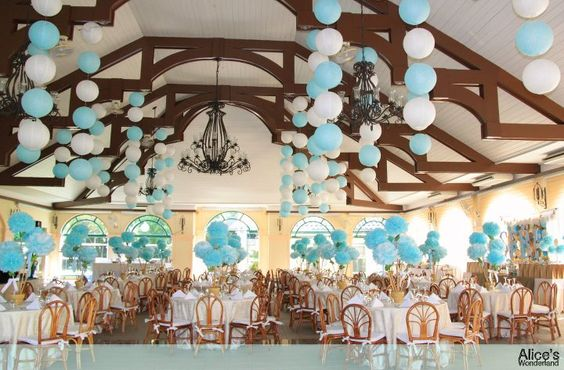 Color combination balloons themed party ideas for Balloon decoration color combinations