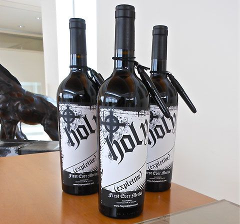 Holy Expletive wine: put your own words on the label