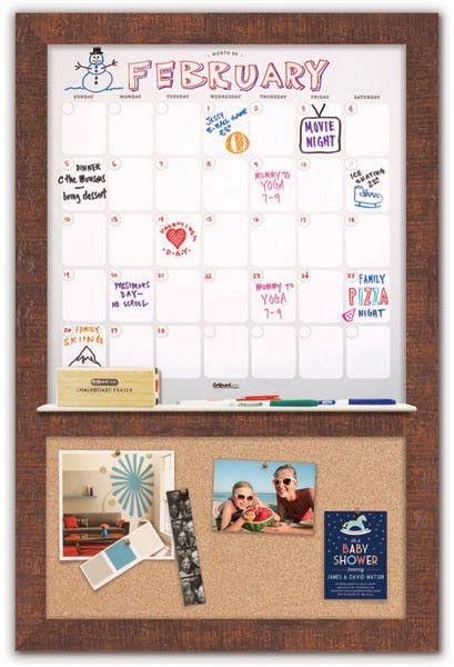 "Dry Erase Calendar 23 1/2"" x 36"""