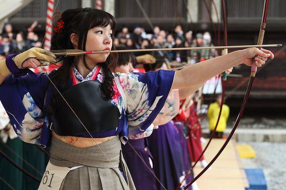 Kyudo ---The Japanese art of archery--- by Teruhide Tomori, via Flickr