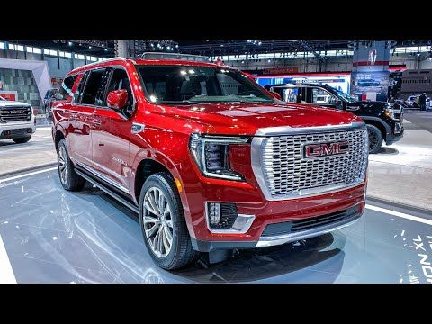 2021 Gmc Yukon Xl Denali Full Size Suv First Look 4k Youtube In