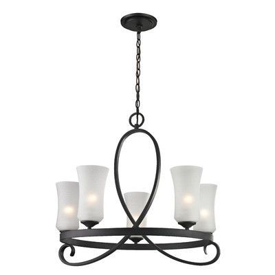 Z-Lite Arshe 5 Light Chandelier