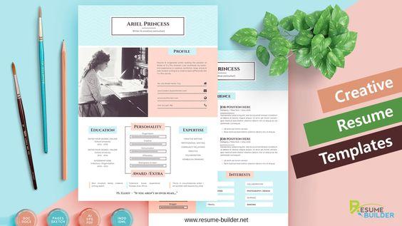 26 best Creative Resumes images on Pinterest Resume templates - resume builder companies