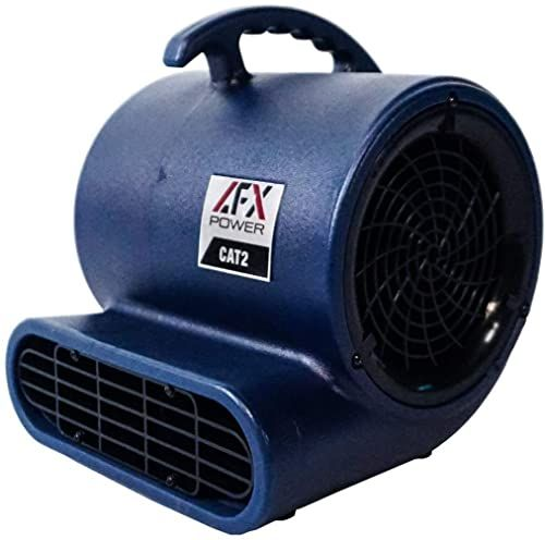Buy Afx Power Cat 2 High Velocity Air Mover Floor Fan Blower Fan Carpet Dryer Features 14 Wide Vent 3 Speeds Built In Outlets 1 3 Hp 2000 Cfm Drying In 2020 Blower Fans Floor Fan Cheap Flooring