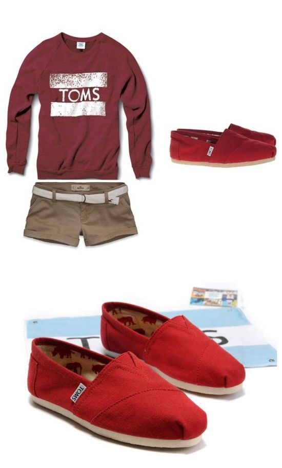 red Toms shoes to make you different in summer; Buy toms shoes and show the ♠♠power of giving♠♠