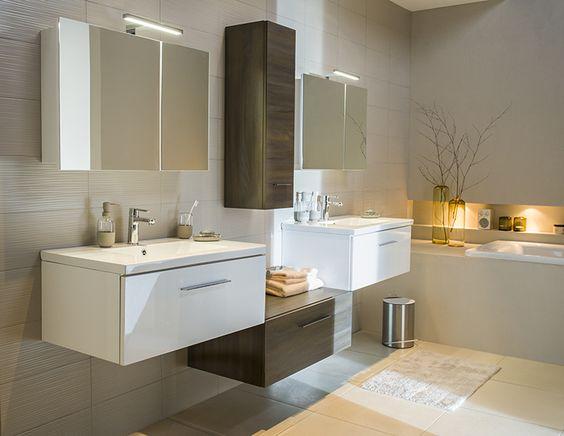 Castorama inspirations salle de bain nida salles de for Castorama salle de bain