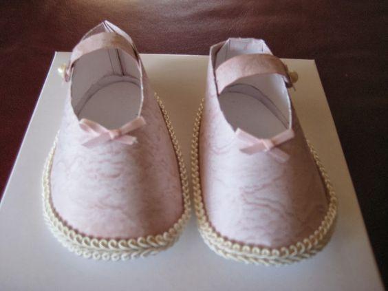 Zapatos de Bebé para Imprimir Gratis.