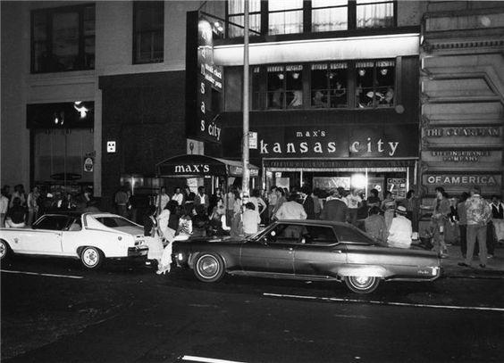 max's kansas city, nyc, 1977