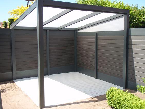 Tuin veranda 39 s and modern on pinterest - Modern tuinmodel ...