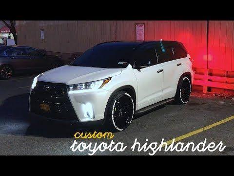 Custom Toyota Highlander Road Force Wheels Tire Lettering Youtube Toyota Highlander Accessories 2015 Toyota Highlander Toyota Highlander
