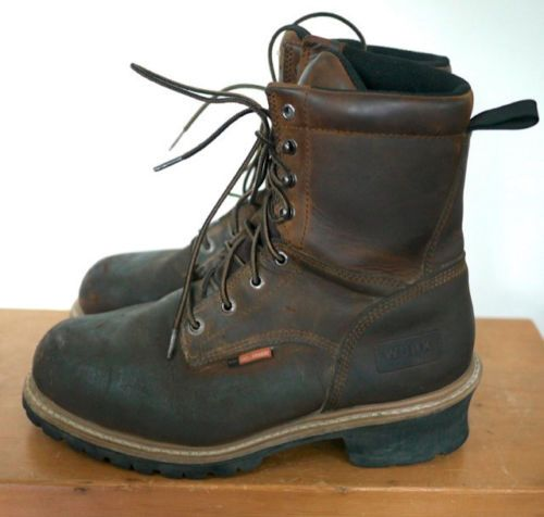 Red Wing WORX Steel Toe Lineman Leather Waterproof Industrial Work