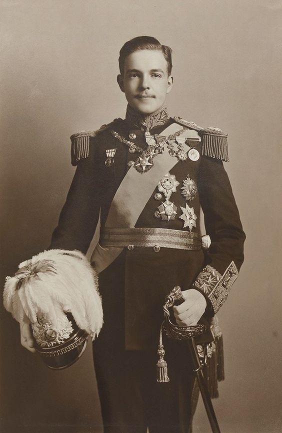 Manuel II, King of Portugal. 1909: