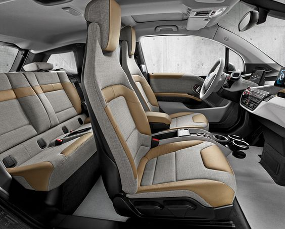 Bmw I3 Natural Leather And Bmw On Pinterest