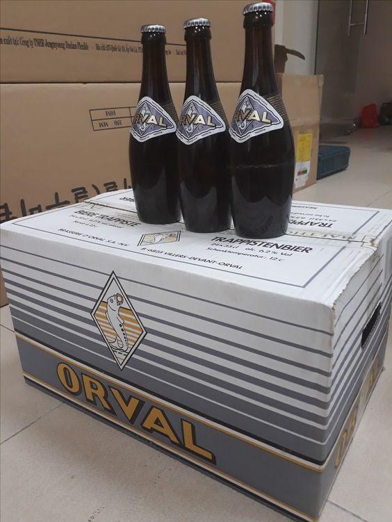 Bia Orval 6.2% - Chai 330ml - Bia Nhập Khẩu TPHCM