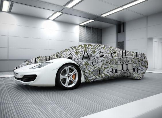 Car cover design by Amelia Robinson!