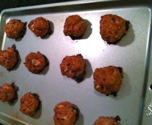 Veal Meatballs.. yum!