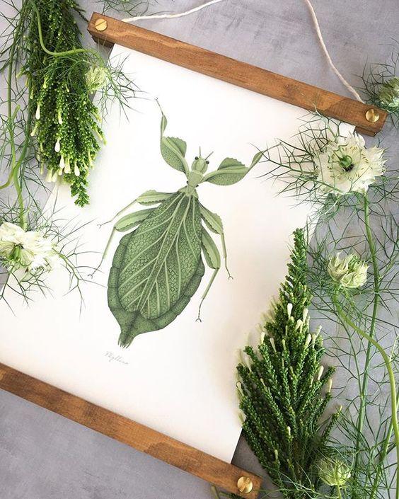 #laminasbotanicas #papeleriabotanica #decoracion #interiorismo #insectos #ilustracionesbotanicas #savethedateprojects