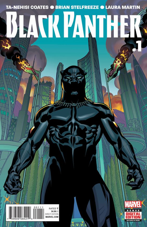 """Marvel's """"Black Panther"""" #1 Tops 300K in Sales http://www.comicbookresources.com/article/c2e2-marvels-black-panther-1-tops-300k-in-sales #C2E2 #comics @tanehisiscoates Brian Stelfreeze↩☾それはすぐに私は行くべきである。 ∑(O_O;) ☕ upload is LG G5/2016.09.23 with ☯''地獄のテロリスト''☯ (о゚д゚о)♂"""