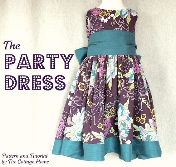 The Party Dress Tutorial-  The Bodice explained!