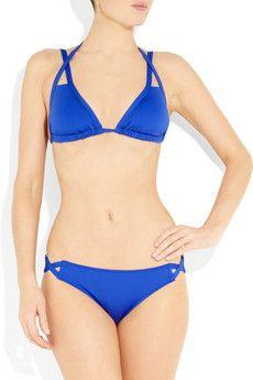 Violet Lake  Jinx triangle bikini top