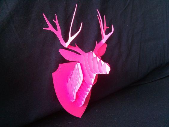 DIY Deer Head Trophy - IN PAPER DREAMS