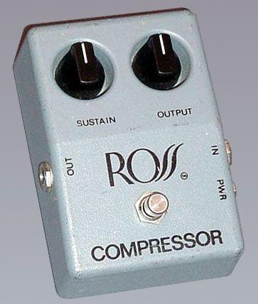 Compresor. La mejor adquisición. Da un sustain increíble y los solos suenan perfectos.