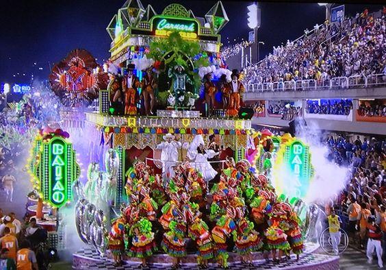 Carnaval 2014.  Rio de Janeiro.