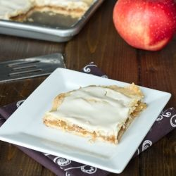 Apple Bars with Icing
