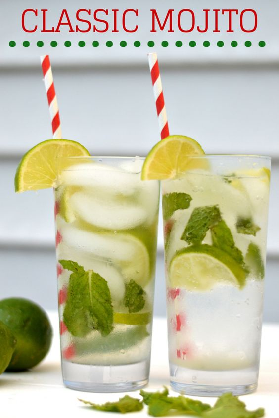 Classic refreshing mojito - perfect on a hot summer's day!
