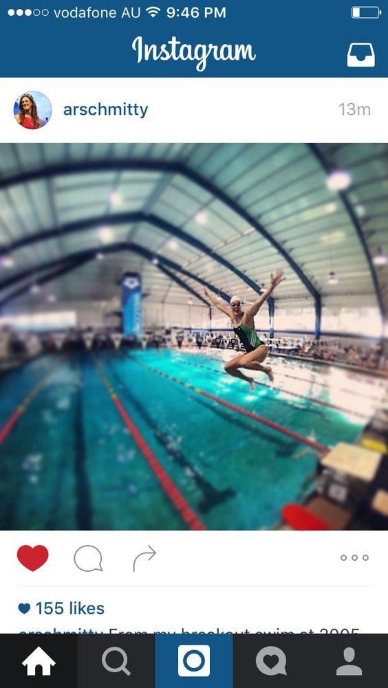 Allison Schmitt in classic adidas swim